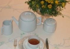 La tavola per il tè