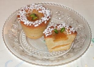 Muffin alle albicocche e limoncello