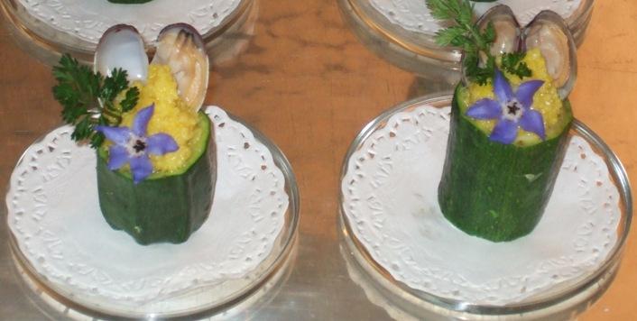 - Cuscus ai frutti di mare nelle zucchine