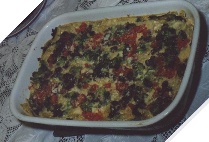 - Lasagnette integrali agli ortaggi