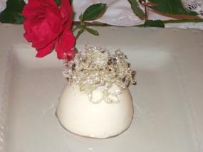 - Rose, lamponi e pistacchio