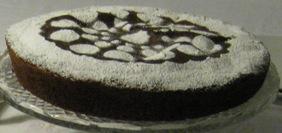 Torta di mandorle e cioccolato fondente