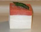 Bavaresi al tonno e gelée di pomodori