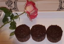 Muffin con pepite di cioccolato
