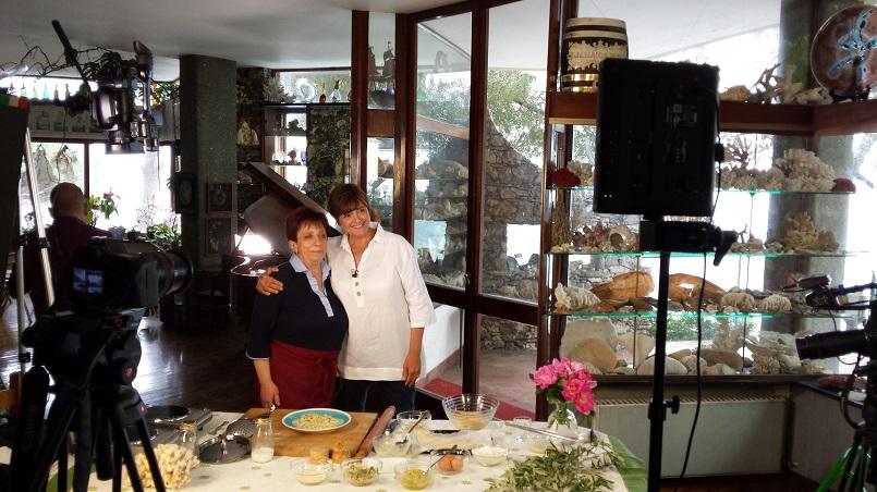 Franca Rizzi ed io a Cara Alice