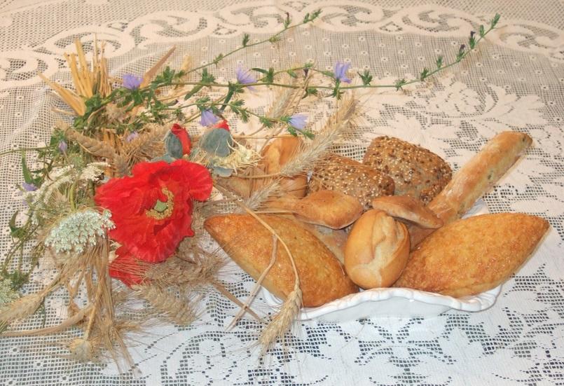 Composizione per la tavola del pane