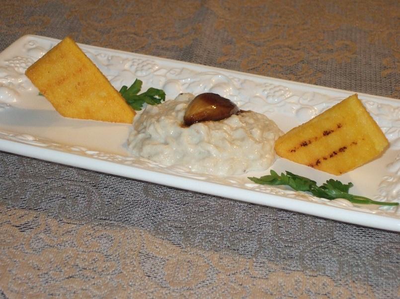 sformato-di-stoccafisso-polenta-grigliata-scalogno-caramellato-al-miele-e-aceto-balsamico