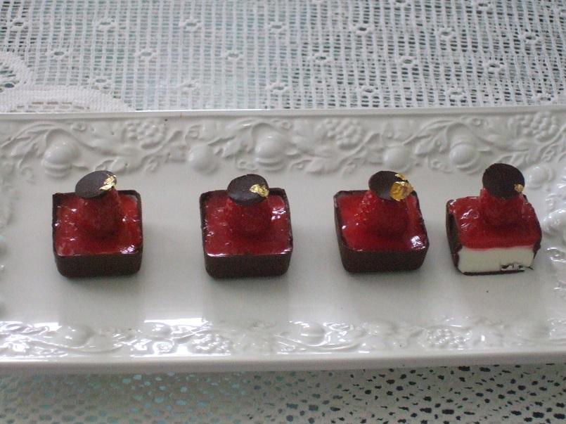 Mignon cioccolato e lamponi
