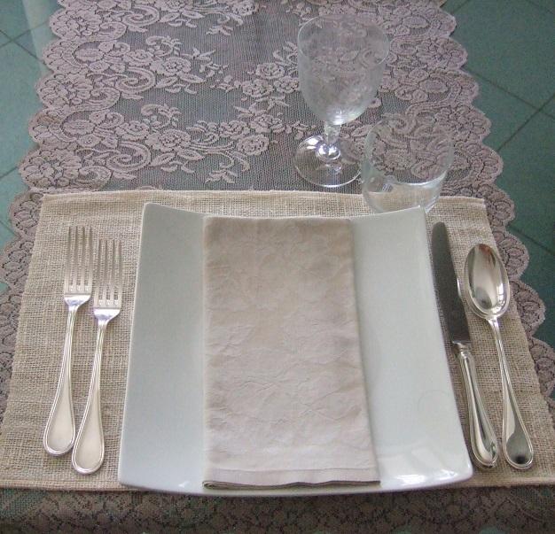 Posto tavola menu Tradizione e creatività