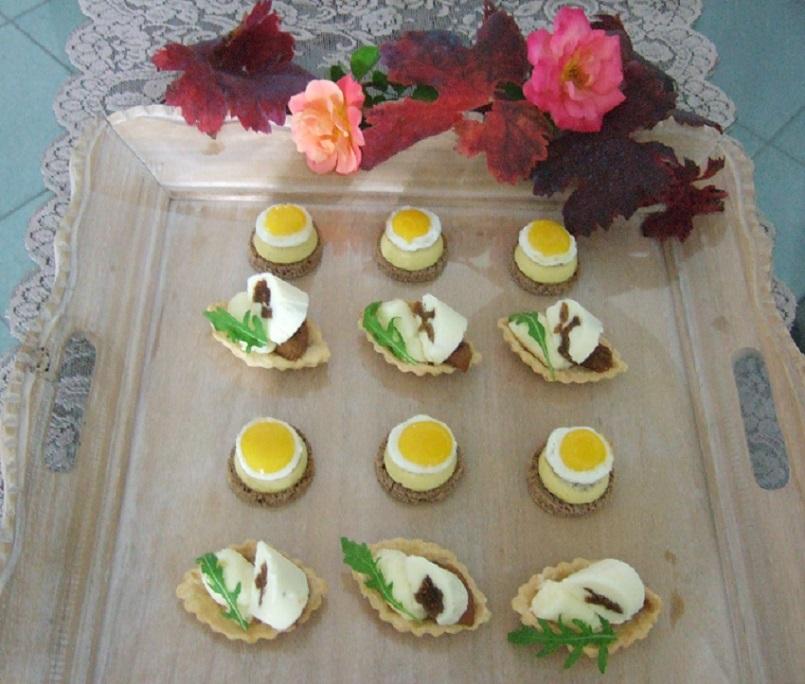 Mignon salati per il buffet d'autunno
