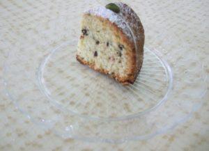 Una fetta di torta Isotta