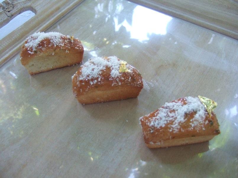 Mini cakes cocco e lime