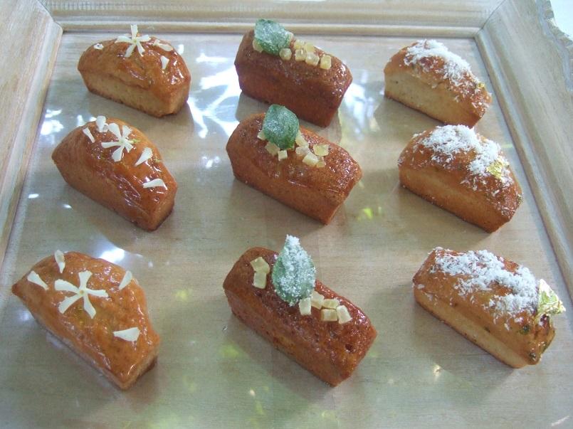 Mini cakes per l'ora del tè
